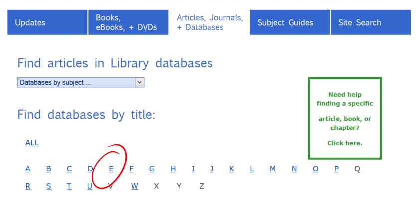 databases-e