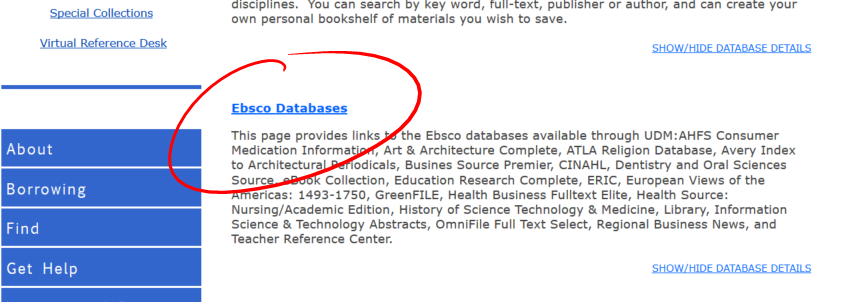 databases-ebsco