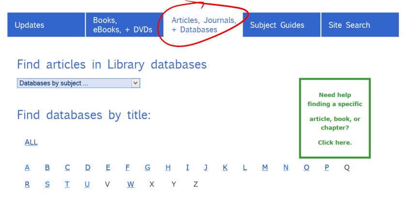 databases-tab
