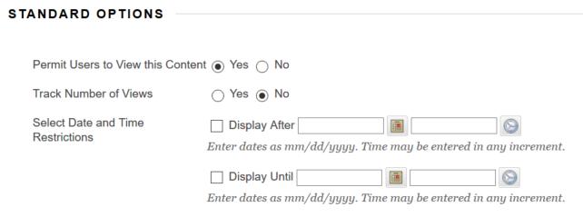 standard-options